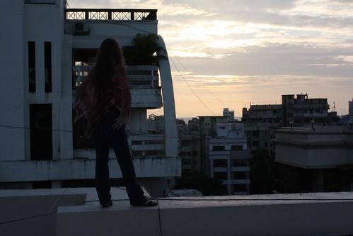 Marisa at Sunset
