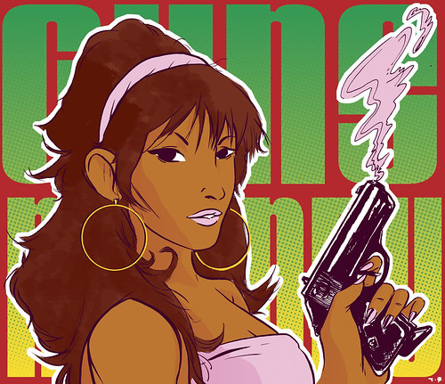 Guns N' Honey : Foxy