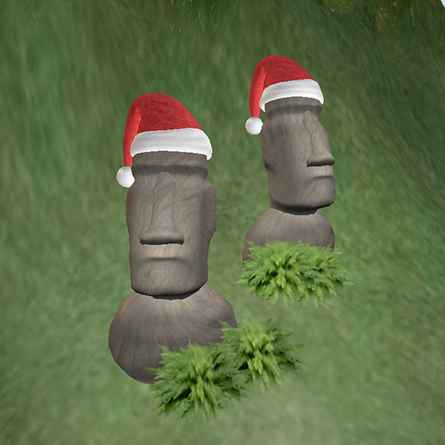 Harbour Moai say Moai Christmas 11-29-2008