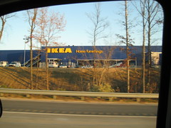 IKEA- they put the yellow letters on the building.  We're getting close to opening I hope!