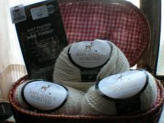 New knittin' stuff!