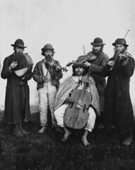 Village orchestra of Ruthenian and Jewish musi...