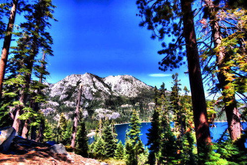 inspiration point, emerald bay