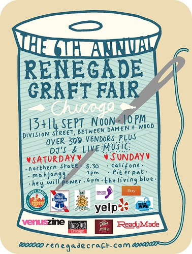 6th Annual Renegade Craft Fair