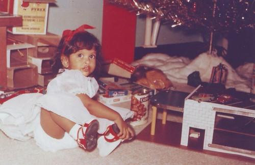 Debbie Christmas 1963