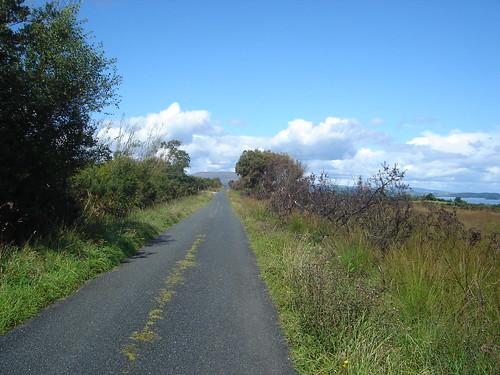 Connemara, scenic road Loch Corrib