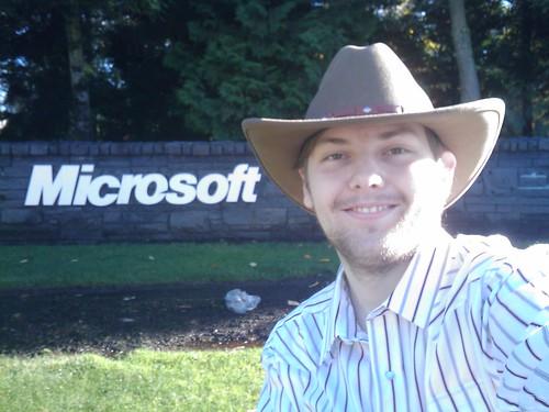 Daniel Kornev @ Microsoft Corporate Campus in Redmond, WA - November 2008