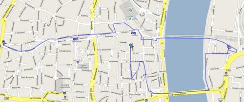 photowalk cologne/köln route
