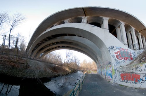 Bronx River Parkway Overpass-1 by kptyson