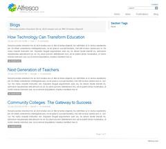 alfresco edit site