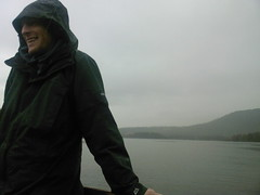Dan on the Boat