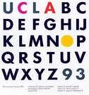 Paul Rand. Cartel para la UCLA. 1993.