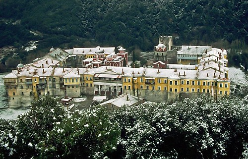 Snow on Mt. Athos