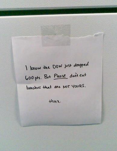Passive Aggressive Note