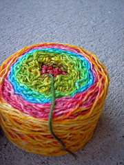 Striping 3-Ply Merino rainbow (3)
