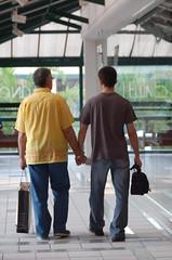 Pai e filho por Maria Castro