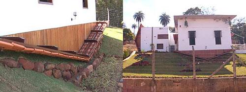 Advogado mineiro constrói casa de ponta cabeça - arquitetura brasil