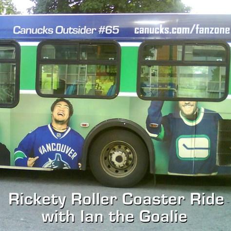 Canucks Outsider #65 Rickety Roller Coaster Ride