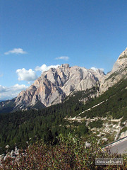 Day 3 Facing the Dolomites at Passo Falzarego