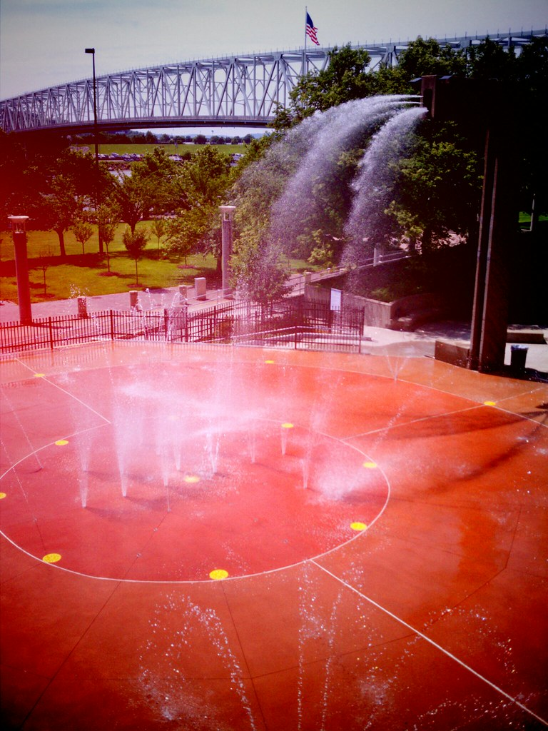 Otto Armleder Aquatic Fountain