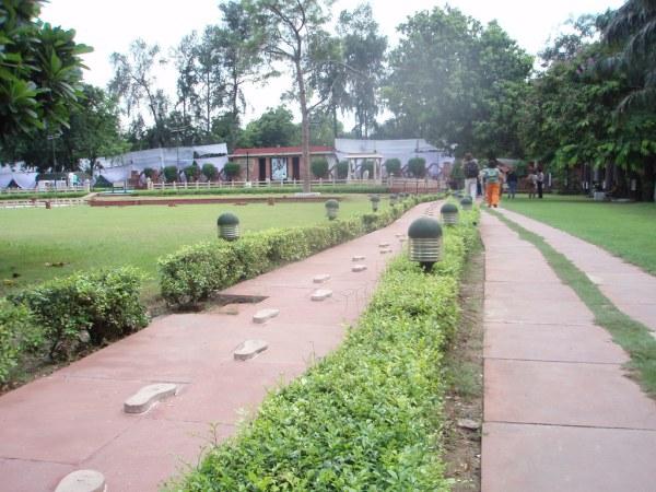 Los últimos pasos de Gandhi