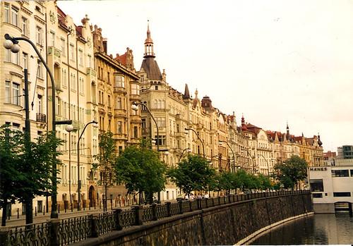 View on the Vltava