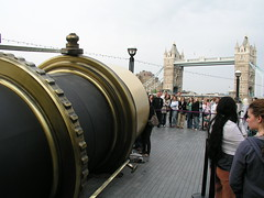 Telectroscope and Tower Bridge