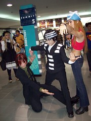 Soul Eater cosplayers