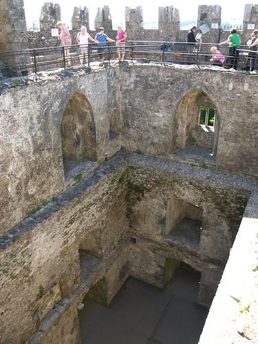 Queue to the Blarney Stone