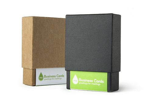 MOO Business Cards Packaging