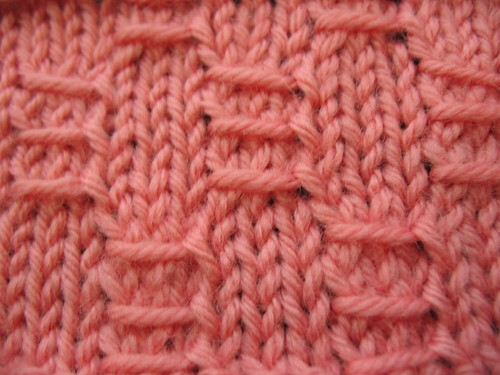 Basic Knitting Stitches Yarn Over : 08. Patterns Made with Yarn-Over Stitches The Walker Treasury Project