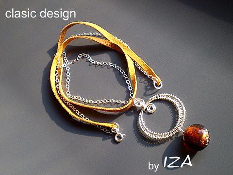 bijuterii-argint 925-piele-margele-india-handmade-ochi caprui by you.