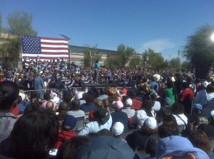 Michelle Obama in North Las Vegas