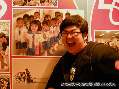 Yongwei excited to see his first loves photo