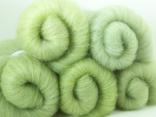 """Pistachio"" Luxury Batts"