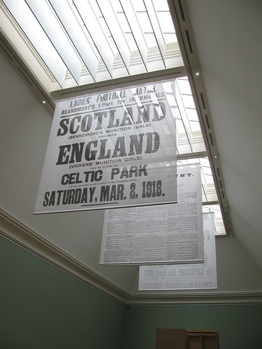 Banners for the Playing for Scotland Exhibition