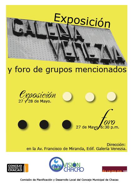 Expo-Foro Galería Venezia 27/05