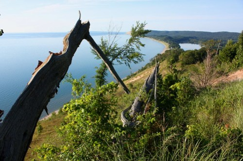 Fallen Friend on Empire Bluffs by cedarkayak