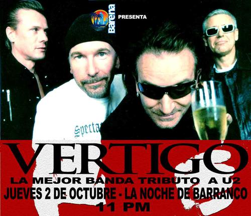 Afiche Homenaje U2