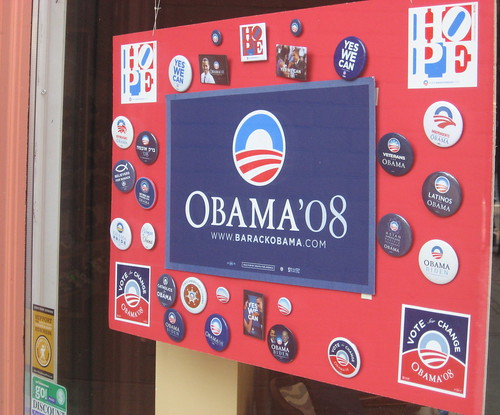 Obama '08 Buttons