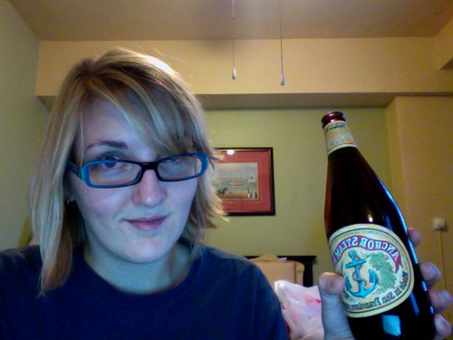 Anchor Steam Beer in hotel
