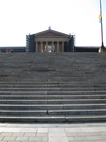 """Rocky Steps"", Philadelphia Museum of Art"