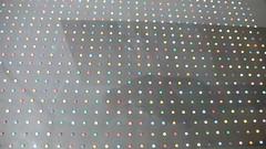 Robert Corish - Audio & Visual Evolution - Random repetition study 999 points 19 colours on Tim's flickr