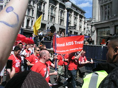 National AIDS Trust, London Pride 2008.
