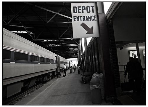 Depot Entrance - Milwaukee