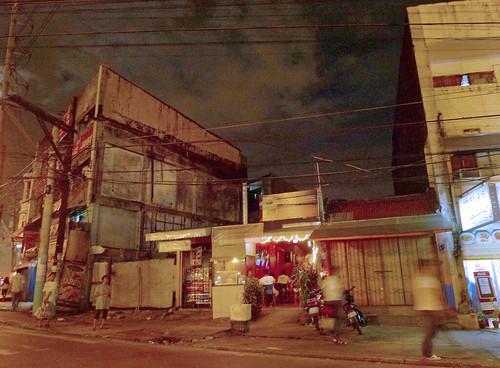 Quezon City at night