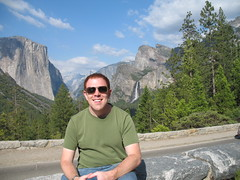 Ryan at Yosemite National Park