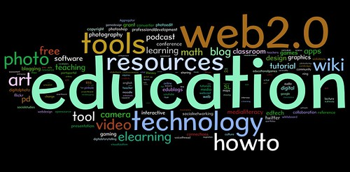 Wordle view of tagcloud