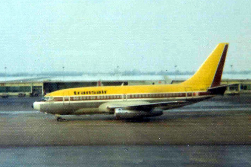 Transair, Winnipegs hometown airline until its merger with Pacific Western Airlines was finalized in 1979, was one of many Canadian airlines to disappear into history over the past 30 years. (© Caribb; from Flickr)