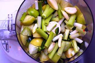 salsa verda cruda